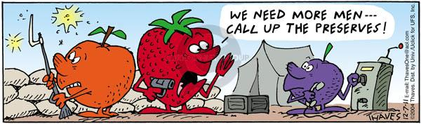 We need more men --- Call up the preserves!  (Published originally on 5/7/2004).