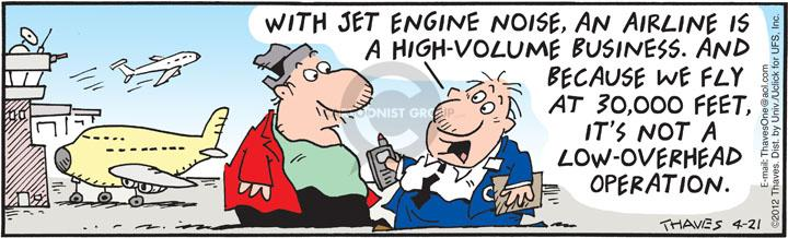 Cartoonist Bob Thaves Tom Thaves  Frank and Ernest 2012-04-21 engine