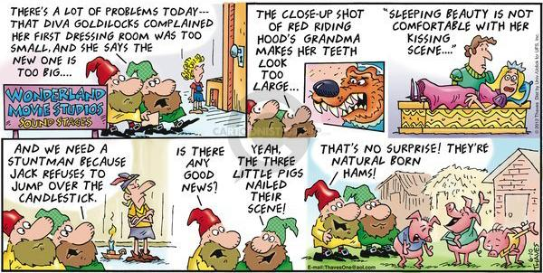 Cartoonist Bob Thaves Tom Thaves  Frank and Ernest 2012-06-10 good news