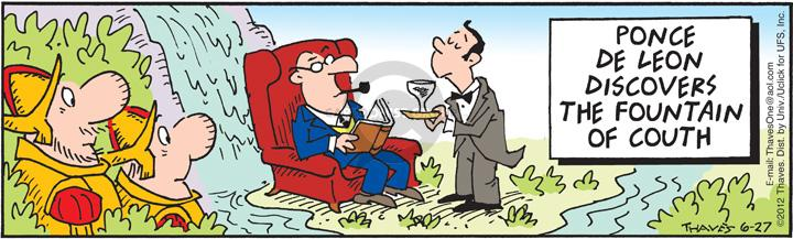 Comic Strip Bob Thaves Tom Thaves  Frank and Ernest 2012-06-27 lifestyle