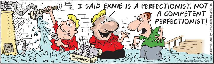 Comic Strip Bob Thaves Tom Thaves  Frank and Ernest 2012-07-04 standard