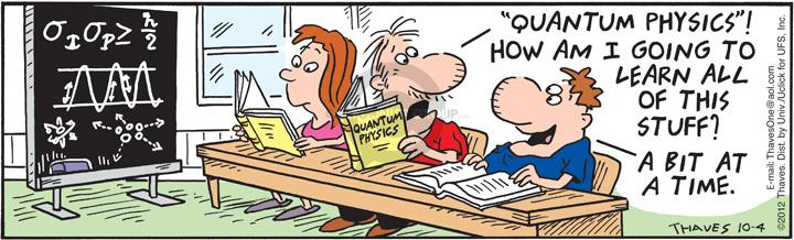 Comic Strip Bob Thaves Tom Thaves  Frank and Ernest 2012-10-04 bit