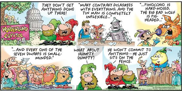 Comic Strip Bob Thaves Tom Thaves  Frank and Ernest 2013-08-25 Dumpty