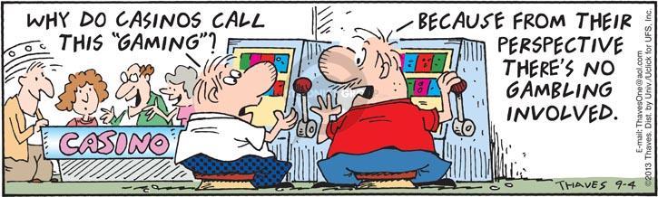 Cartoonist Bob Thaves Tom Thaves  Frank and Ernest 2013-09-04 slot