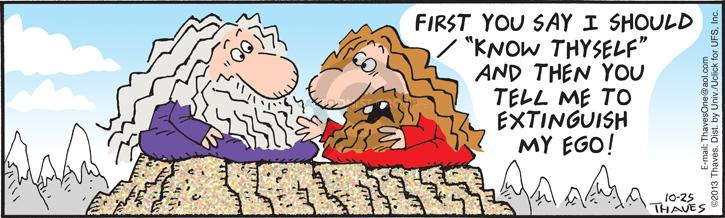 Comic Strip Bob Thaves Tom Thaves  Frank and Ernest 2013-10-25 individual