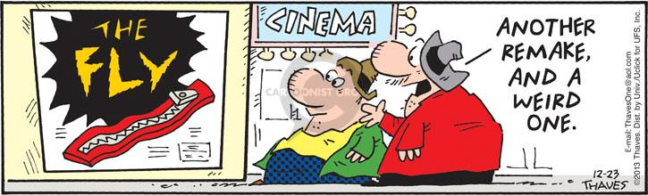 Comic Strip Bob Thaves Tom Thaves  Frank and Ernest 2013-12-23 movie sequel