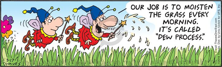 Comic Strip Bob Thaves Tom Thaves  Frank and Ernest 2014-03-17 fairy
