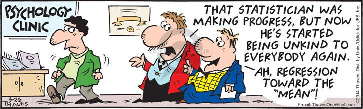 Comic Strip Bob Thaves Tom Thaves  Frank and Ernest 2014-03-26 means