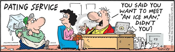 Comic Strip Bob Thaves Tom Thaves  Frank and Ernest 2014-04-21 comprehension