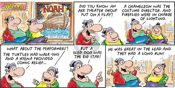 Comic Strip Bob Thaves Tom Thaves  Frank and Ernest 2014-05-18 Noah's Ark
