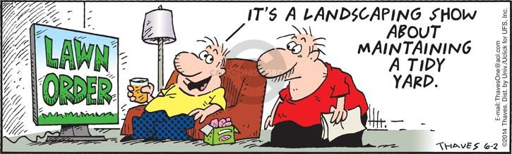 Comic Strip Bob Thaves Tom Thaves  Frank and Ernest 2014-06-02 television viewer