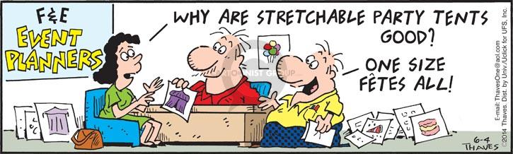 Comic Strip Bob Thaves Tom Thaves  Frank and Ernest 2014-06-04 fit