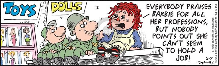 Comic Strip Bob Thaves Tom Thaves  Frank and Ernest 2014-06-07 duration