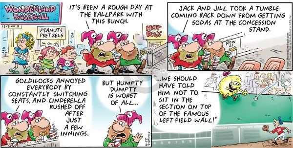 Cartoonist Bob Thaves Tom Thaves  Frank and Ernest 2014-06-22 Dumpty
