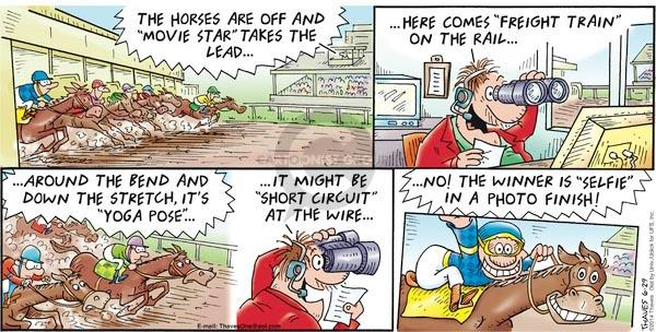 Comic Strip Bob Thaves Tom Thaves  Frank and Ernest 2014-06-29 finish