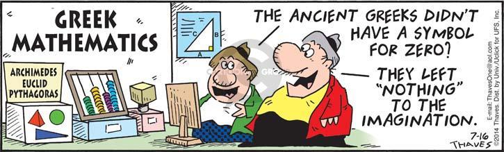 Comic Strip Bob Thaves Tom Thaves  Frank and Ernest 2014-07-16 left