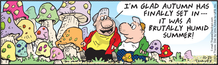 Comic Strip Bob Thaves Tom Thaves  Frank and Ernest 2014-10-25 glad
