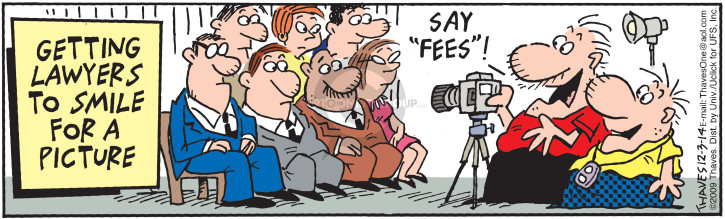 "Getting lawyers to smile for a picture.  Say ""fees""!  (Published originally on May 27, 2009.)"