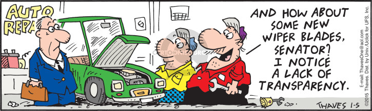Comic Strip Bob Thaves Tom Thaves  Frank and Ernest 2015-01-05 auto mechanic