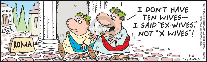 Comic Strip Bob Thaves Tom Thaves  Frank and Ernest 2015-01-06 Roman
