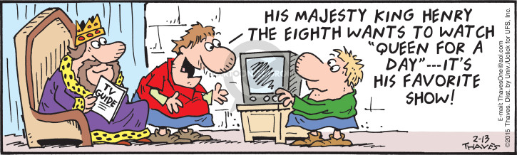 Comic Strip Bob Thaves Tom Thaves  Frank and Ernest 2015-02-13 programming