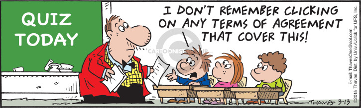 Comic Strip Bob Thaves Tom Thaves  Frank and Ernest 2015-03-13 elementary school