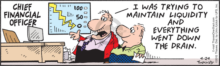 Comic Strip Bob Thaves Tom Thaves  Frank and Ernest 2015-04-24 corporate