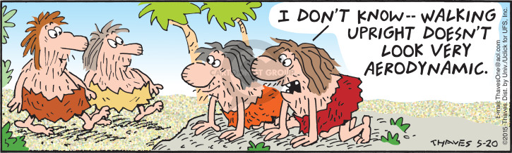 Comic Strip Bob Thaves Tom Thaves  Frank and Ernest 2015-05-20 mechanic