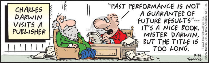 Comic Strip Bob Thaves Tom Thaves  Frank and Ernest 2015-08-31 past