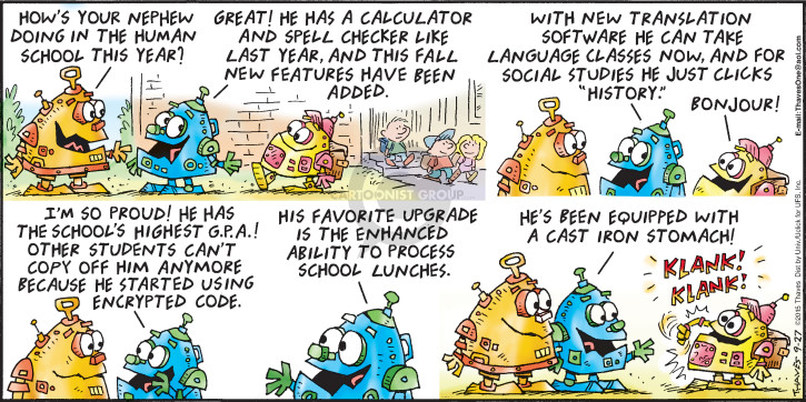 Comic Strip Bob Thaves Tom Thaves  Frank and Ernest 2015-09-27 software