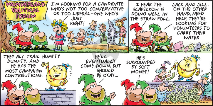 Comic Strip Bob Thaves Tom Thaves  Frank and Ernest 2015-11-15 candidate