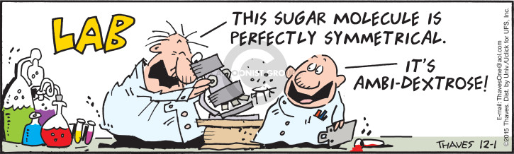Comic Strip Bob Thaves Tom Thaves  Frank and Ernest 2015-12-01 sugar