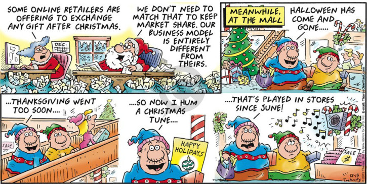 Comic Strip Bob Thaves Tom Thaves  Frank and Ernest 2015-12-13 match