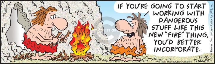 Cartoonist Bob Thaves Tom Thaves  Frank and Ernest 2015-12-28 asset