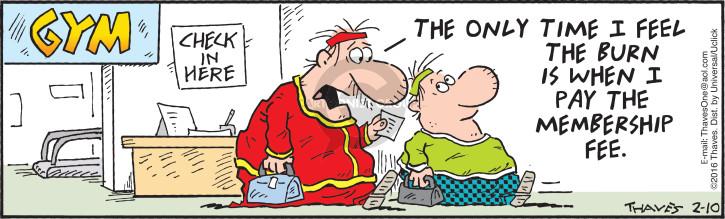 Comic Strip Bob Thaves Tom Thaves  Frank and Ernest 2016-02-10 effort