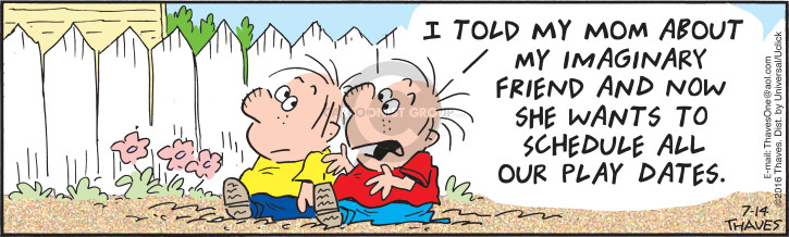 Comic Strip Bob Thaves Tom Thaves  Frank and Ernest 2016-07-14 schedule
