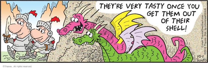 Comic Strip Bob Thaves Tom Thaves  Frank and Ernest 2016-10-01 taste