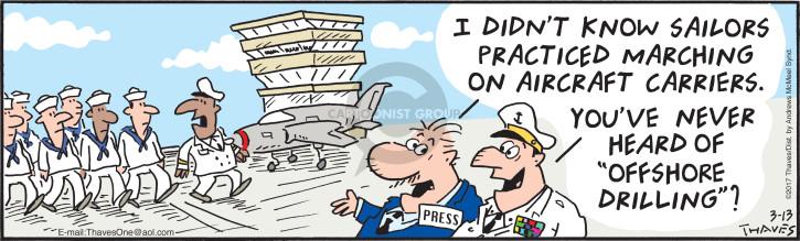 Cartoonist Bob Thaves Tom Thaves  Frank and Ernest 2017-03-13 press