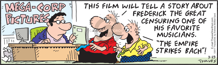 Comic Strip Bob Thaves Tom Thaves  Frank and Ernest 2017-03-23 movie
