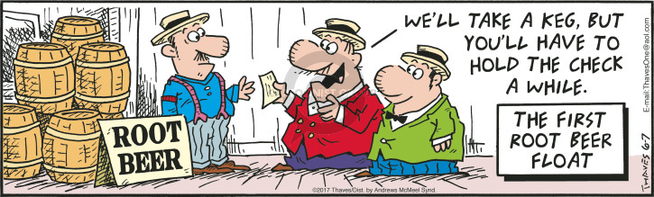 Comic Strip Bob Thaves Tom Thaves  Frank and Ernest 2017-06-07 loan