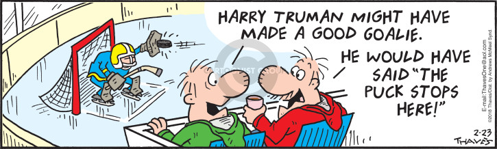 Comic Strip Bob Thaves Tom Thaves  Frank and Ernest 2018-02-23 2018 Olympics