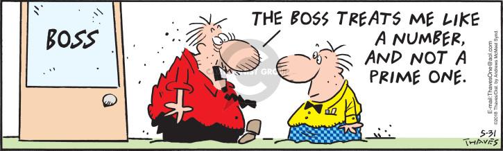 Cartoonist Bob Thaves Tom Thaves  Frank and Ernest 2018-05-31 number