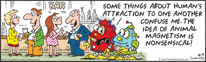 Comic Strip Bob Thaves Tom Thaves  Frank and Ernest 2018-06-09 attraction
