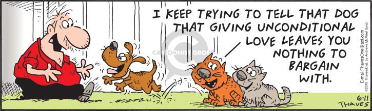 Comic Strip Bob Thaves Tom Thaves  Frank and Ernest 2018-06-11 dog