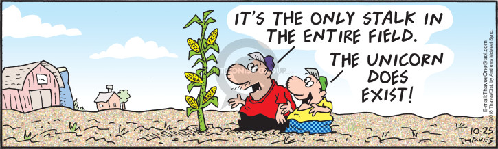 Comic Strip Bob Thaves Tom Thaves  Frank and Ernest 2018-10-25 plant