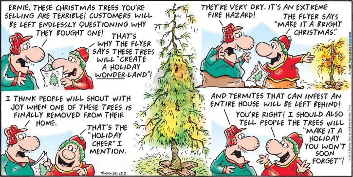 Comic Strip Bob Thaves Tom Thaves  Frank and Ernest 2018-12-02 sell