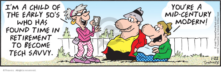 Comic Strip Bob Thaves Tom Thaves  Frank and Ernest 2019-01-22 technology