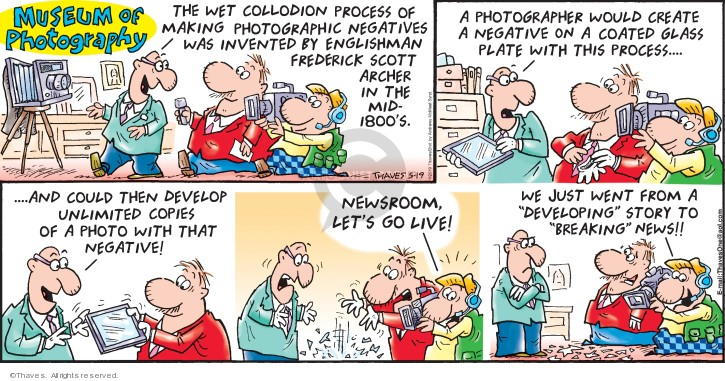 Comic Strip Bob Thaves Tom Thaves  Frank and Ernest 2019-05-19 museum
