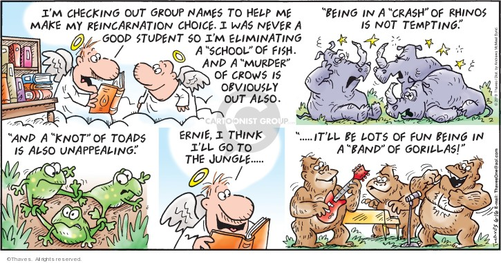 Cartoonist Bob Thaves Tom Thaves  Frank and Ernest 2019-06-16 school