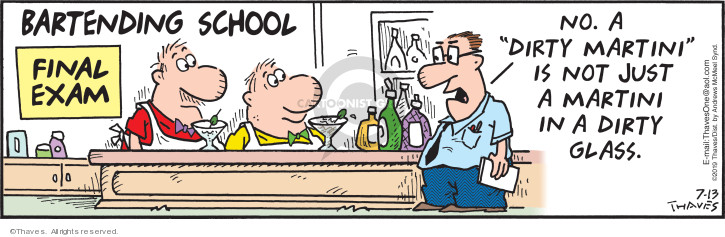 Cartoonist Bob Thaves Tom Thaves  Frank and Ernest 2019-07-13 school